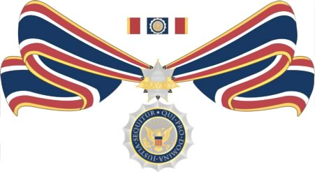 federal badge of bravery
